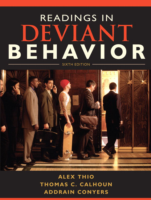 Books « Sociology of Deviant Behavior